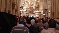 La Catedral se prepara para el inicio de la procesión