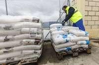 Comienza el reparto de sal para prevenir heladas y nevadas