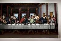 Célebre cuadro 'La última cena'.