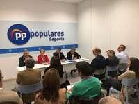 Jaime Olano pide la concentración del voto en el PP
