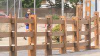 Mejoras en el vallado de La Saca y en la plaza de toros