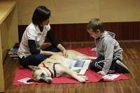 Los niños que leían a los perros