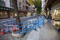 Cortes de tráfico por las obras de la calle Calatrava
