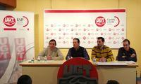UGT recaba apoyos a las movilizaciones en Aspanias