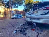 Los accidentes de tráfico en la ciudad dejaron 361 heridos