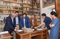 Los fondos del Machado, en el Archivo Histórico Provincial