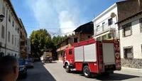 Medios aéreos y 10 personas siguen en el incendio de Riópar