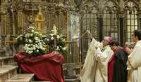 Santa Bernardita llega a Toledo