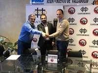 Acuerdo con Vallsur para fomentar el deporte en la ciudad