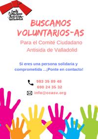 El Comité Ciudadano Antisida busca voluntarios