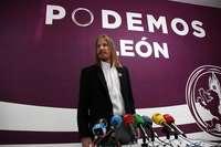 Pablo Fernández, secretario general de Podemos en Castilla y León.