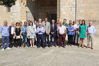 Ibáñez se compromete a intensificar la relación municipal