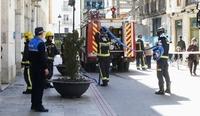 Falsa alarma en la calle La Moneda
