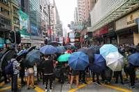 Nuevos enfrentamientos de protestas en Hong Kong