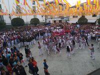 Los quintos y el pregón abren las fiestas de Ólvega