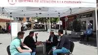 El PSOE saca el despacho de Alcaldía a la calle