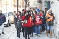 Los sindicatos prevén mayor respaldo a la huelga del día 23