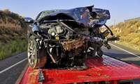 Un muerto y un herido grave en un choque frontal en la N-400