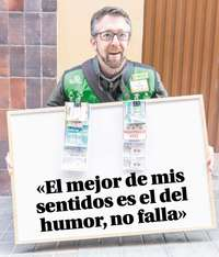 Fernando Marcos Rubio, agente vendedor de la ONCE en Segovia.