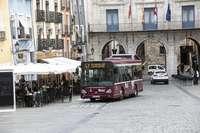 La procesión del Corpus genera modificaciones en el autobús