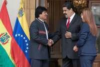 Maduro insta al ejército boliviano a restituir a Evo Morales