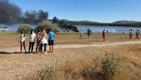 La herida en la explosión de Playa Pita permanece
