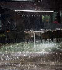Primeras incidencias por lluvias en la provincia