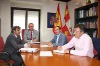 Primera reunión Junta-Palazuelos para abordar proyectos