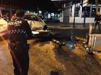 La Policía arresta a un conductor ebrio tras un accidente