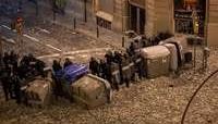 Herido un policía de Valladolid en los disturbios catalanes