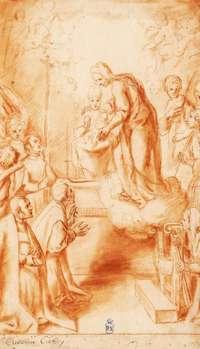 Cloe Cavero y una rara iconografía de la Virgen del Sagrario
