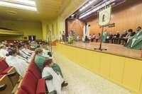 El medio siglo del Santo Sudario se celebra bajo techo