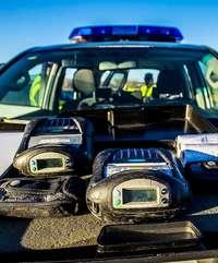 Más de 390 multas en siete días por exceso de velocidad