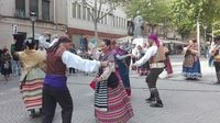 Santa Ana promociona su azafrán con música y folclore