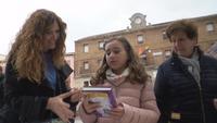 Ólvega celebra el Día del Libro con mucho público infantil