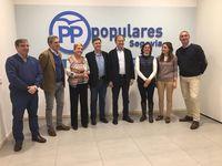 Pío García-Escudero pide en Segovia el voto útil para el PP