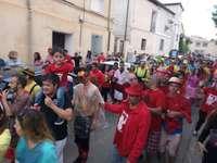 Las peñas animan Arcos de Jalón en la recta final de fiestas