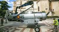 El ejército del aire se exhibe en el Prado