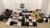 La Policía intervino contra la venta ambulante en la Feria