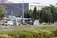 Cáritas pide un programa de «calle» en los asentamientos