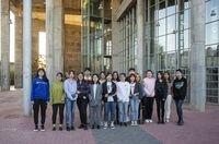 Jóvenes chinos estudian su carrera en español en Albacete