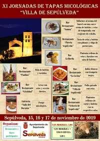 La hostelería de Sepúlveda celebra sus jornadas micológicas