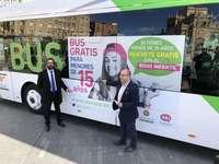 8.000 jóvenes podrán pedir el bono para viajar gratis en bus