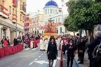 La lluvia no evitó la procesión del Silencio en Hellín