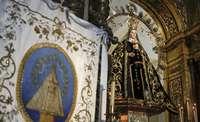 La Virgen de la Estrella se viste de luto por las víctimas