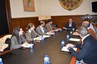 Diputación se abre a colaborar con los jóvenes empresarios