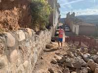 Imagen de las orbas del Barrio de Bodegas de Nalda.