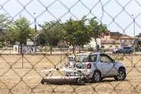 El georradar de Vega Baja llega a la parcela del cuartel