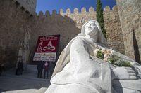 Mural floral Santa Teresa