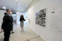 Inauguración de la exposición 'IX Miradas'